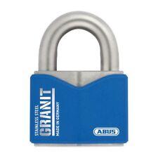 ABUS GRANIT PADLOCK 37ST55 High Security Full Stainless Steel Padlocks Post