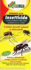 Insetticida Liquido Concentrato PERMEX 22E Alfe 1 Litro _ Al.Fe Mosche Zanzare