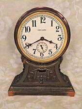 Sessions Art Deco Shelf Clock Runs! w/ Alarm