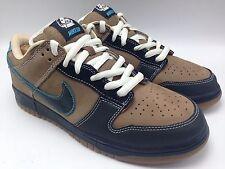 Nike SB Dunk Low Slam City Skate Light Taupe/Black Men Fashion Shoes Size 11