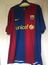 Mens Messi Barcelona no.19 Nike football shirt 2006/07 size L