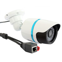 HD 1.0MP 720P IP Bullet Camera Network Outdoor Security Waterproof Night Vision