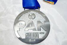 Pan Nogi Medal 2018 Large Round Chrome Metal Trophy Award