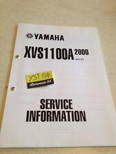 Yamaha XVS1100 A 2000 XVS 1100 service information technique technical data