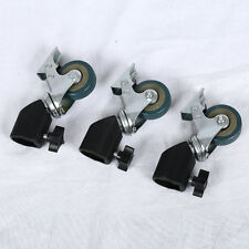 3Pcs Photo Studio Wheel Heavy Duty Universal Caster Wheel For Light Stand Tripod