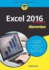 Excel 2016 für Dummies kompakt von Greg Harvey (2017, Taschenbuch)