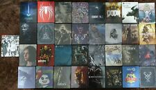 PS4 STEELBOOKS WITH GAMES *RARE* AAA TITLES