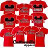 🔥 Mom Dad Grandma Big Sister Baby Brother Mickey Family Matching shirts