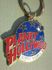 Planet Hollywood New York Restaurant Enamel Key Ring Key Chain New Souvenir