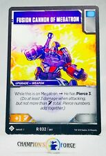 TRANSFORMERS TCG Wave 1 Fusion Cannon of Megatron