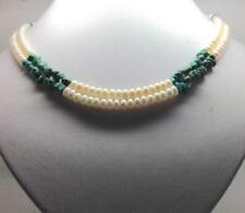 "Turquoise 18 - 19.99"" Fine Pearl Necklaces & Pendants"