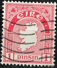 Ireland Island Map stamp 1943