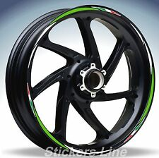 Adesivi ruote moto strisce cerchi KAWASAKI VERSYS Racing 4 sitckers wheel