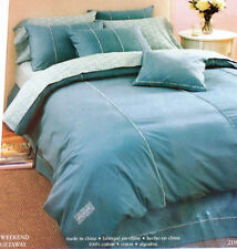 Laura Ashley - Weekend Getaway - New Blouson Valance - blue with trim -