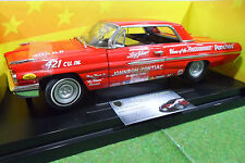 PONTIAC CATALINA 1962 Rouge 1/18 AMERICAN MUSCLE ERTL 36676 voiture miniature