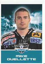 Mike Oullette Black Wings Linz 2011-12 TOP AK Orig. Sign. Eishockey +A38208