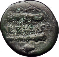 Alexander III the Great 336BC Ancient Greek Coin Hercules Bow Club Grapes i30317