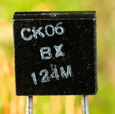 Condensateur CK06 céramique 120 nF 50 V radial