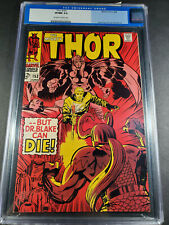 SILVER AGE MARVEL COMIC THE MIGHTY THOR #153 HIGH GRADE CGC 9.0 VF/NM KEY BOOK