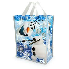 Disney Store Frozen OLAF SNOWMAN SNOW MAN Reusable Grocery ECO Gift Bag Tote