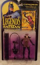 Legends Of Batman Selina Kyle Catwoman Figure With Whip By Kenner (MOC)