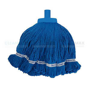 Premium Microfiber Mop Head, Blue