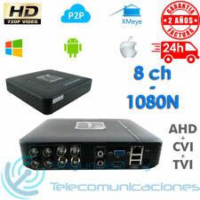 GRABADOR DVR 8 CH CCTV AHD TVI CVI TRIBRIDO 1080N 1080p 720p FULL HD H264 P2P