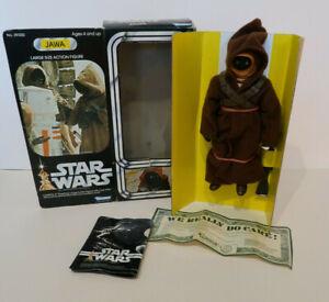 Kenner Star Wars Jawa 21 Cm Grande Figurine Etat Neuf + Boite 1979