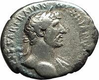 HADRIAN 119AD Rome Authentic Ancient Roman Silver Coin Concordia Harmony  i77067