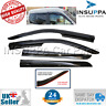 WIND RAIN SUN SMOKE DEFLECTORS 4 PCS FOR FORD TRANSIT TOURNEO CONNECT 2017 ON
