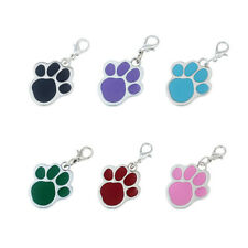 Blank Dog Tag / Cat Tag / Charm - Paw Shaped Design
