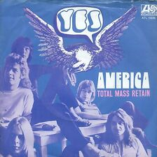 7inch YES america  HOLLAND 1972 EX +PS