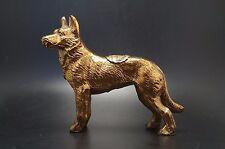 VTG Metal GERMAN SHEPHERD Dog Souvenir Fort Ticonderoga NY