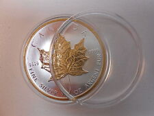 10 Airtite Coin Capsule Holders for Canadian 1 oz Silver Maple Leaf, 38mm