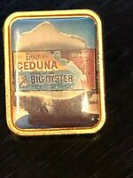 Collectible Vintage Ceduna Oyster Colorful Metal Pinback Lapel Pin Hat Pin