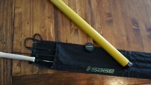 """NWT Sage Fly Fishing Circa Fly Rod, 8' 9"""" 3-Weight, 4-Pc Trout Fishing Fly Rod"""