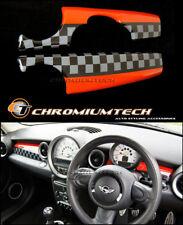 MK2 Mini Cooper/S/One R55 R56 R57 R58 R59 cubierta de panel de panel de control de estilo JCW RHD