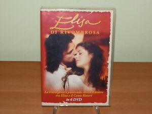ELISA DI RIVOMBROSA - 1 STAGIONE 6 DVD NO EDITORIALE ULTRA RARO USATO SICURO