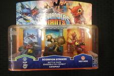 Skylanders Giants Champions Battle Pack Catapult, Zap, Scorpion Striker, Hot Dog
