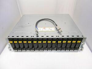 EMC Expansion Array Jbod Disk Array Shelf W/ 15x SAS SATA Trays Dell HP 6GB CHIA