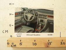 AF087-PHOTO FACTORY ? AUDI ALL ROAD QUATRRO 1/98