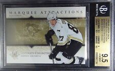 2005-06 ULTIMATE MARQUEE ATTRACTION SIDNEY CROSBY #227/250 BGS 9.5 RC YEAR POP 9