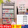 48 Holes Earring Necklace Jewelry Display Show Rack Metal Stand Holder Organizer