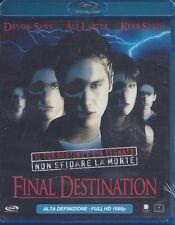 Blu-ray **FINAL DESTINATION** nuovo 2000