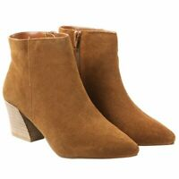 Kensie Women's Lyden Ankle Boot Brown Size 9