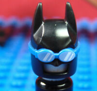 LEGO-THE BATMAN MOVIE SERIES X 1 HEADGEAR FOR VACATION BATMAN OR SWIMSUIT BATMAN