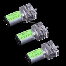 3X DC3V 300mmHg Dosing pump Peristaltic Head Motor 130MA For Teaching Experiment