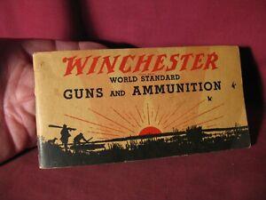 Original 1933 Winchester Guns And Ammunition Catalog