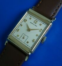 Exquisite Vintage1949 Mans Hamilton*Franklin* Hand Winding Silver Dial SERVICED!