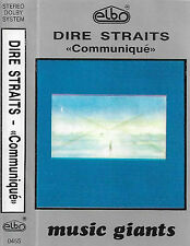 Dire Straits ‎Communiqué CASSETTE ALBUM Elbo Music Giants ‎0455 POLISH Rock Pop